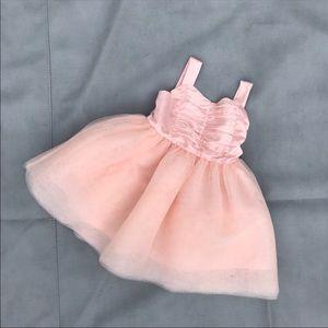 Janie and Jack pink tutu dress size 6-12 month